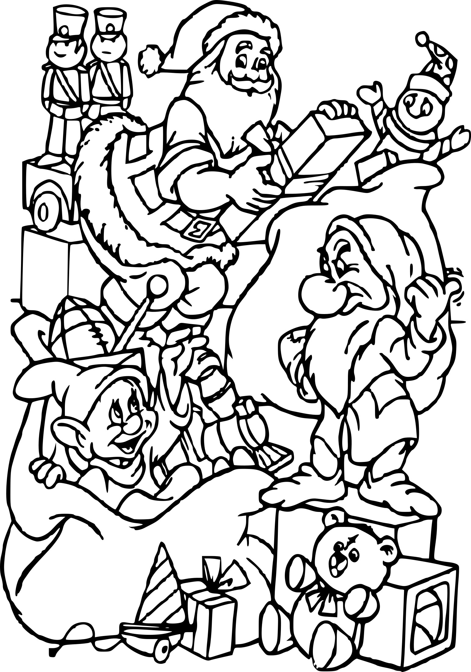 Coloriage Noel Disney
