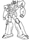 Coloriage Optimus Prime