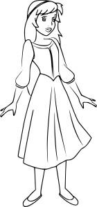 Coloriage princesse Éloïse