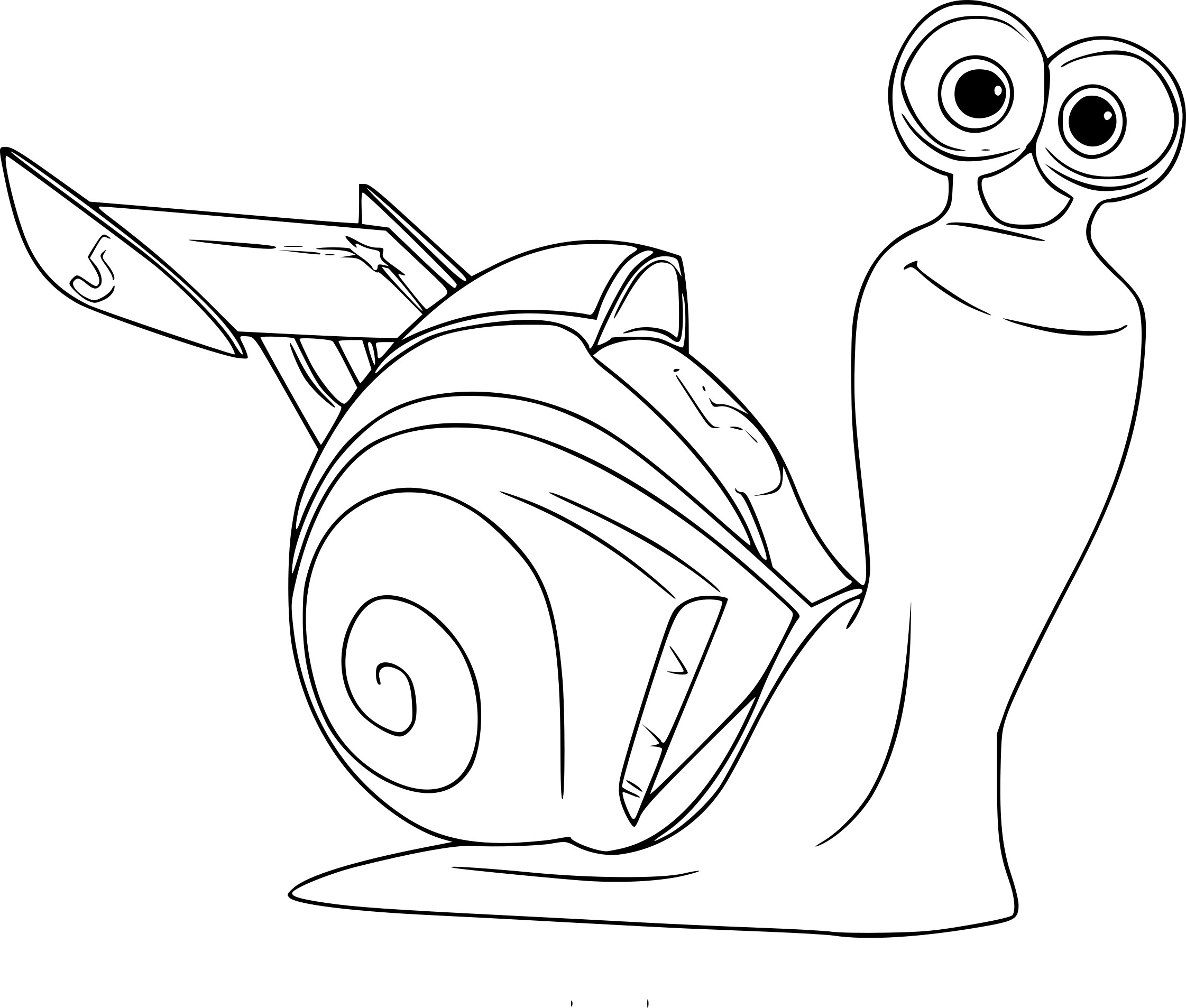 Coloriage Turbo
