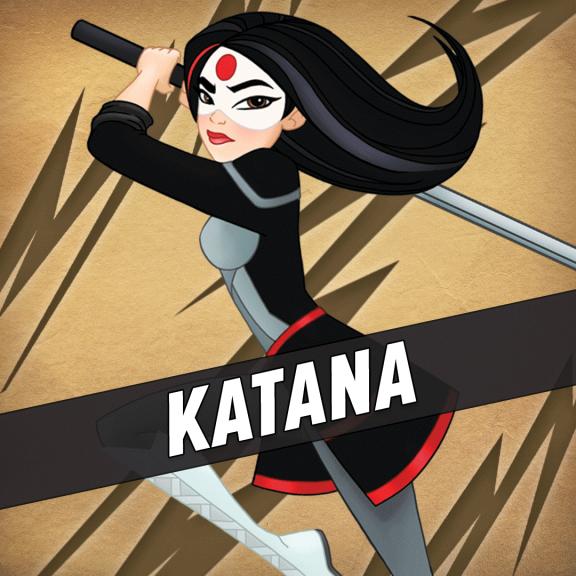 Katana super-héroïne