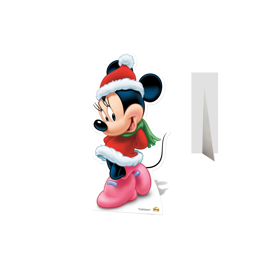Coloriage Minnie Noel A Imprimer