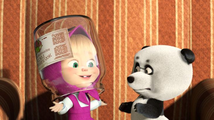 Panda Macha et l'ours
