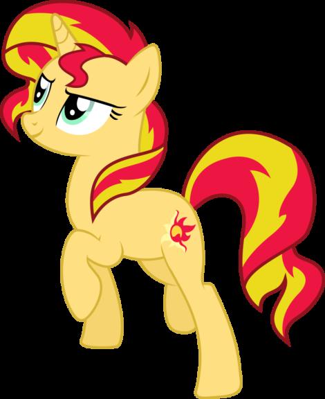 Sunset Shimmer mon petit poney