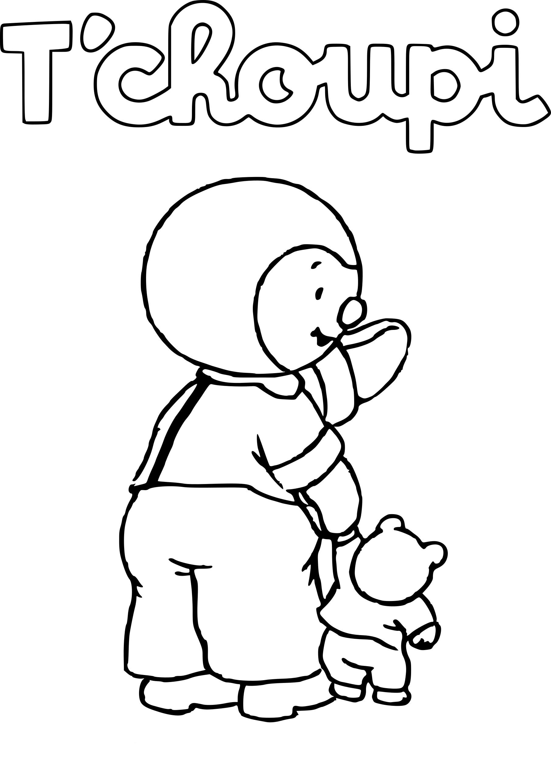 Tchoupi dessin