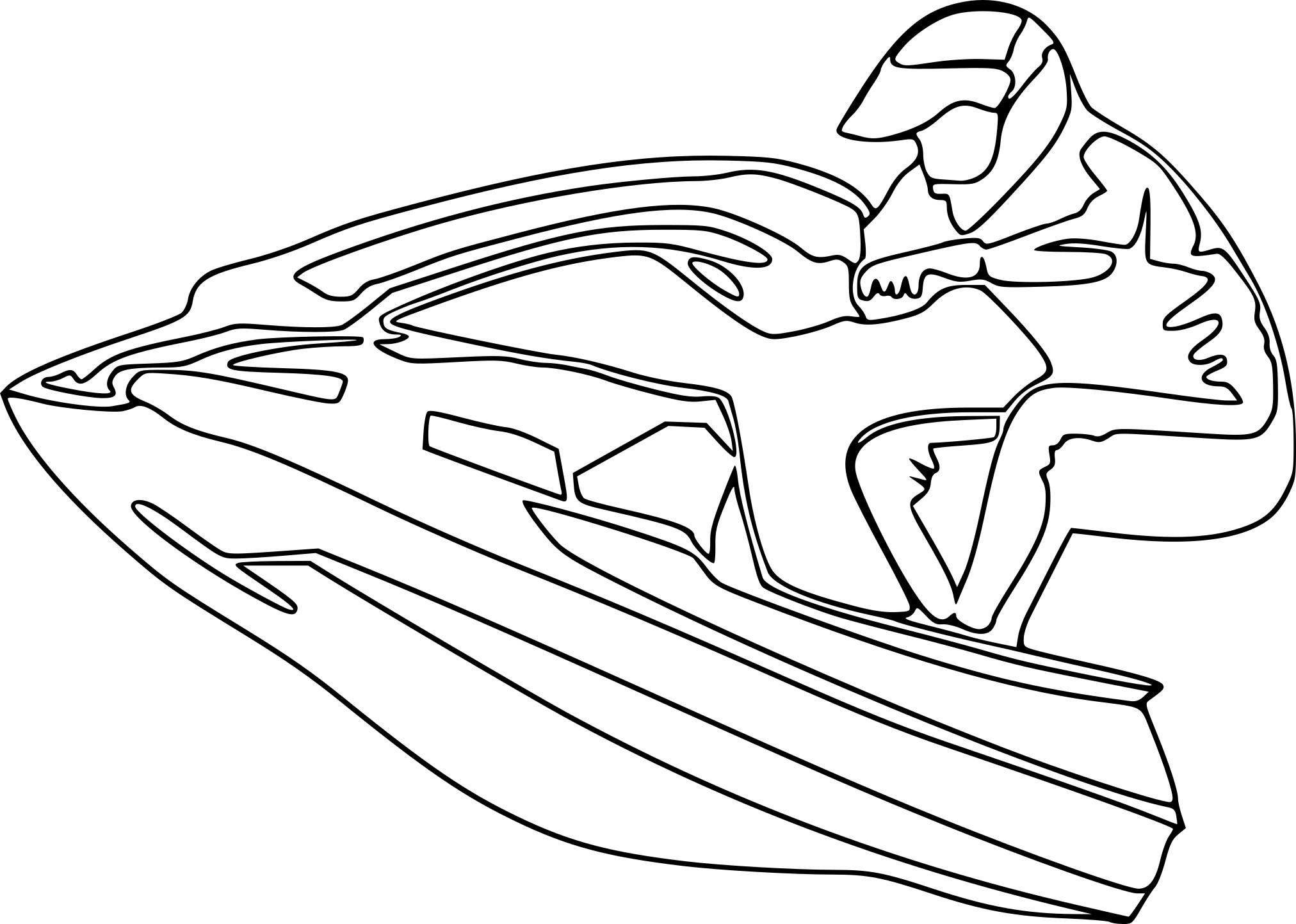 Coloriage scooter des mers imprimer - Des dessins a imprimer ...