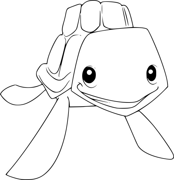 Coloriage tortue de mer Animal Jam