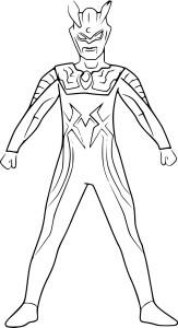 Coloriage Ultraman Zero