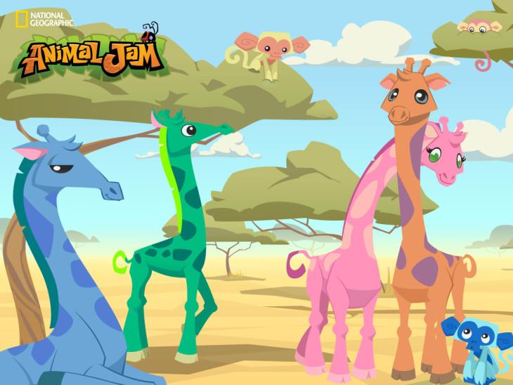 Girafe Animal Jam