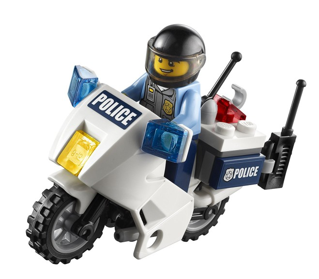Coloriage Lego police à imprimer