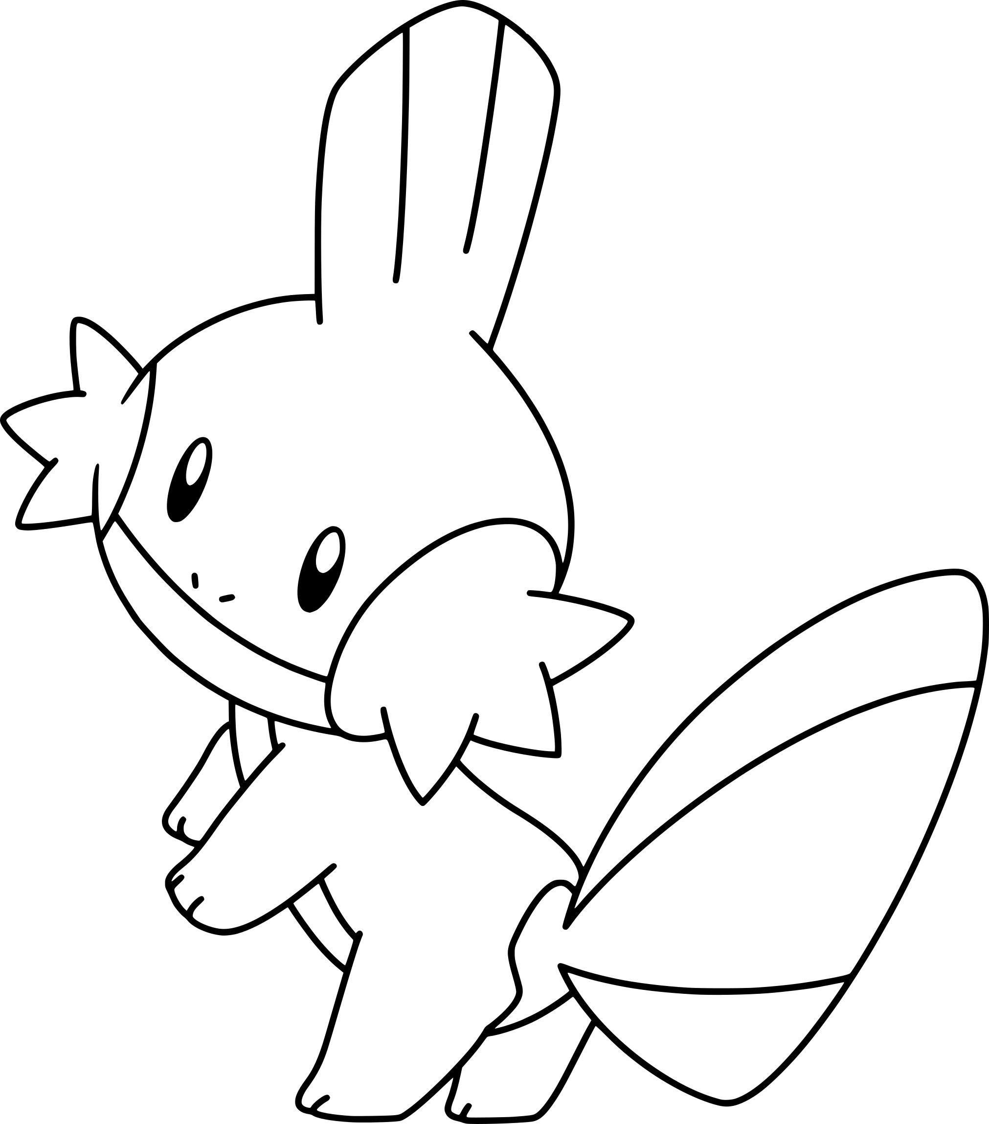 Coloriage gobou pokemon imprimer - Dessins de pokemon ...
