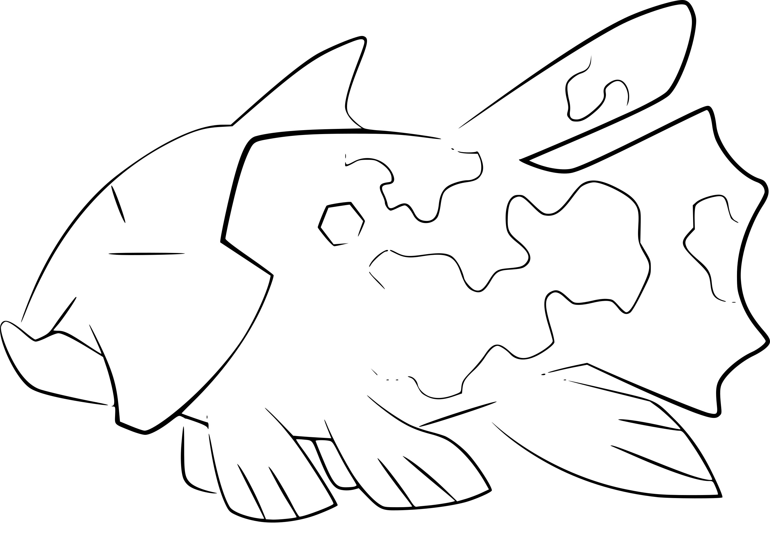 Coloriage Relicanth