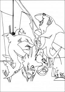Gang de requins dessin