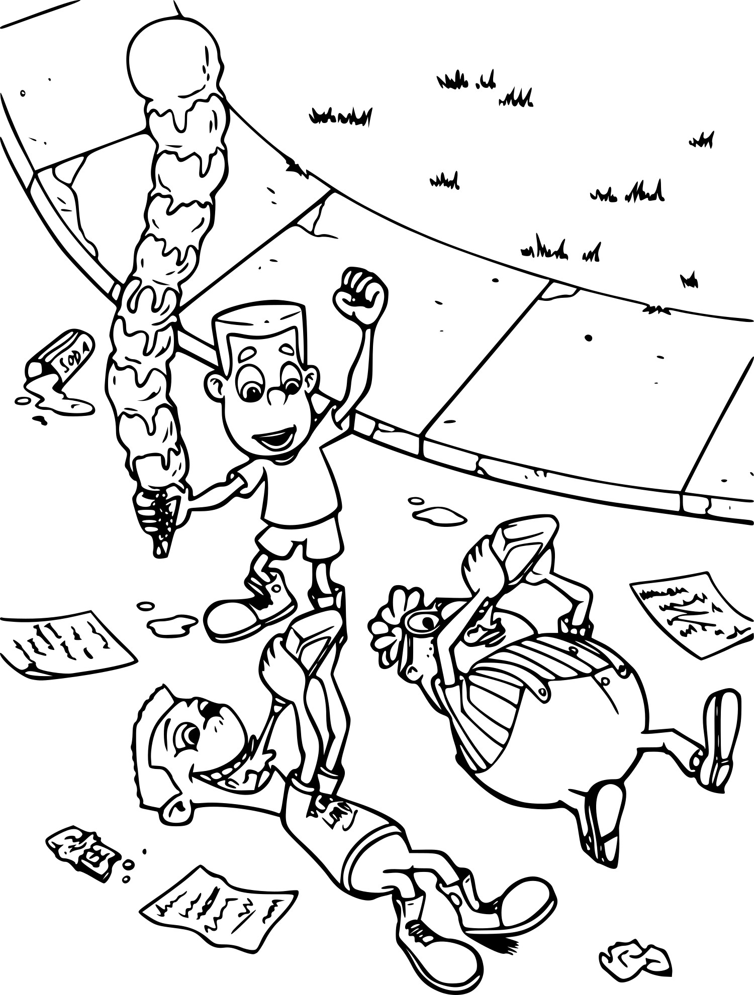 Jimmy Neutron dessin