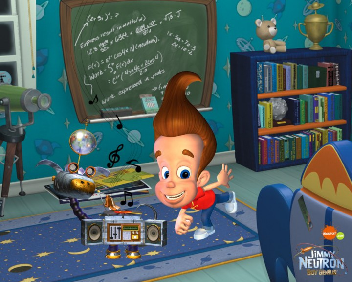 Jimmy Neutron dessin animé