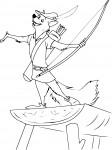 Robin des bois dessin