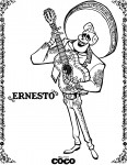 Coloriage Coco Ernesto