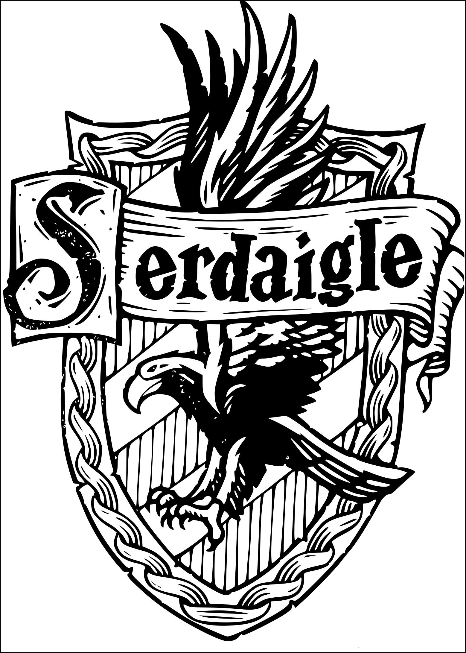 Coloriage Serdaigle