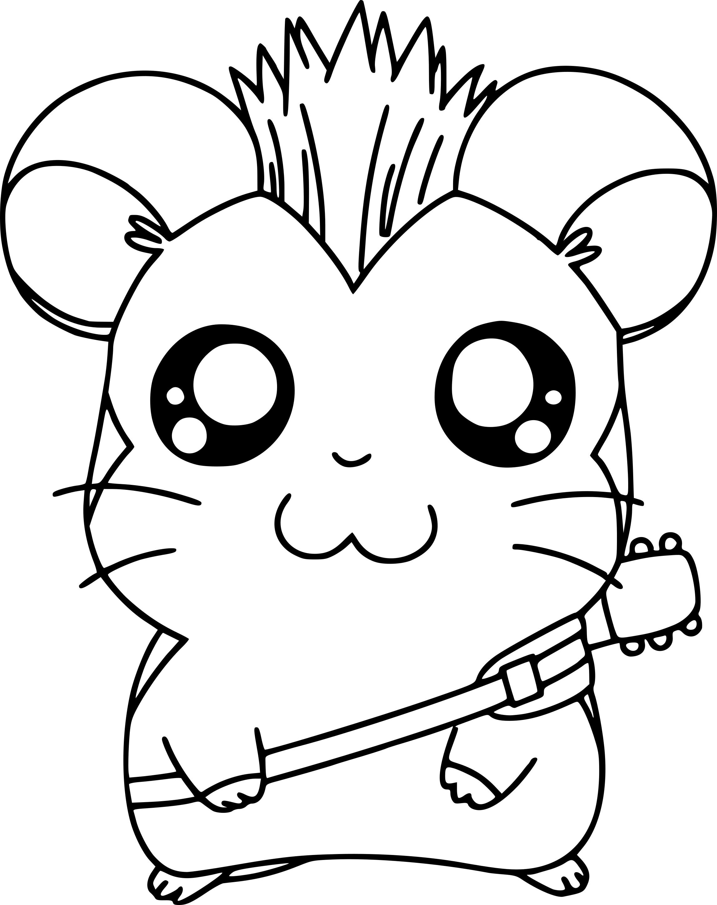 Hamster dessin