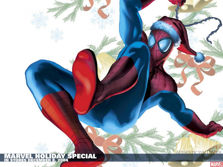 Spiderman noël