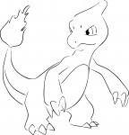 Coloriage Pokemon Reptincel