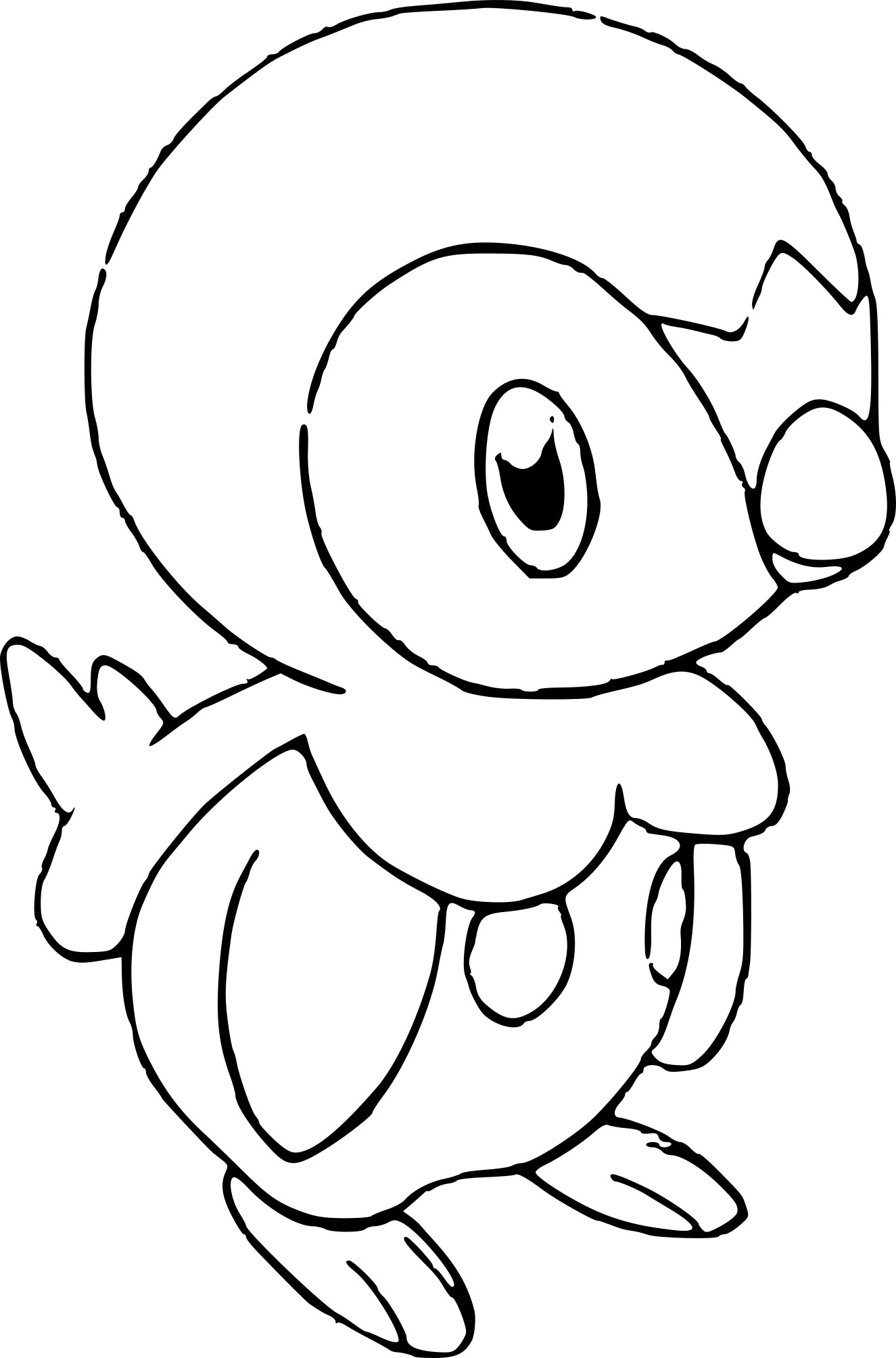 coloriage pokemon tiplouf