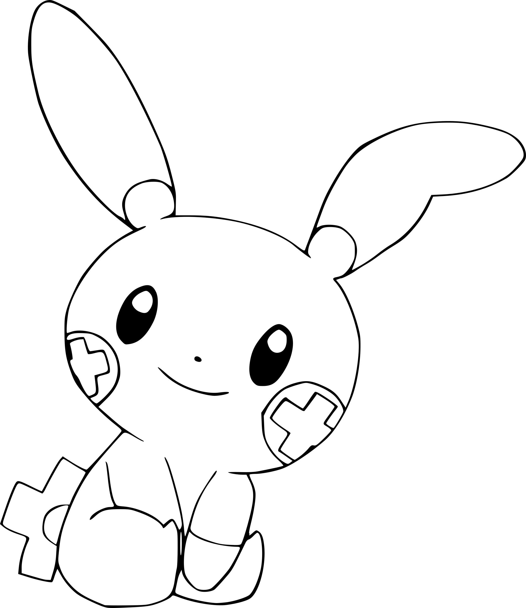 Coloriage posipi pokemon imprimer - Dessin de martine a imprimer ...