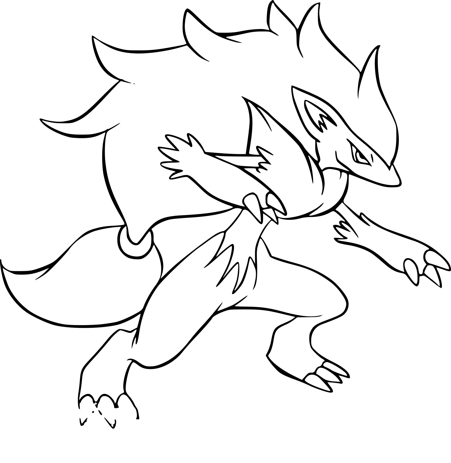 Coloriage Drascore Pokemon à Imprimer