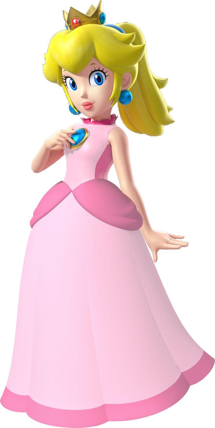 Coloriage Princesse Peach A Imprimer