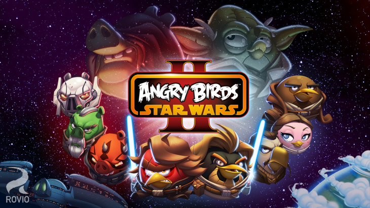 Star Wars Angry Birds personnages