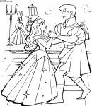 Coloriage Aurore et le Prince