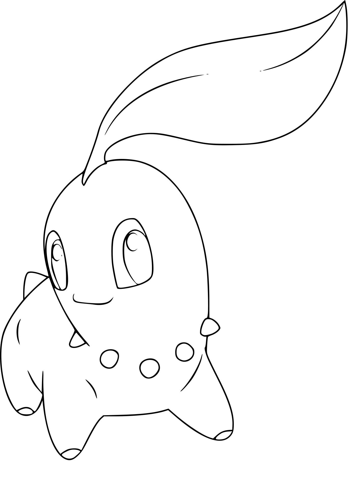 Coloriage Tiplouf Pokemon A Imprimer