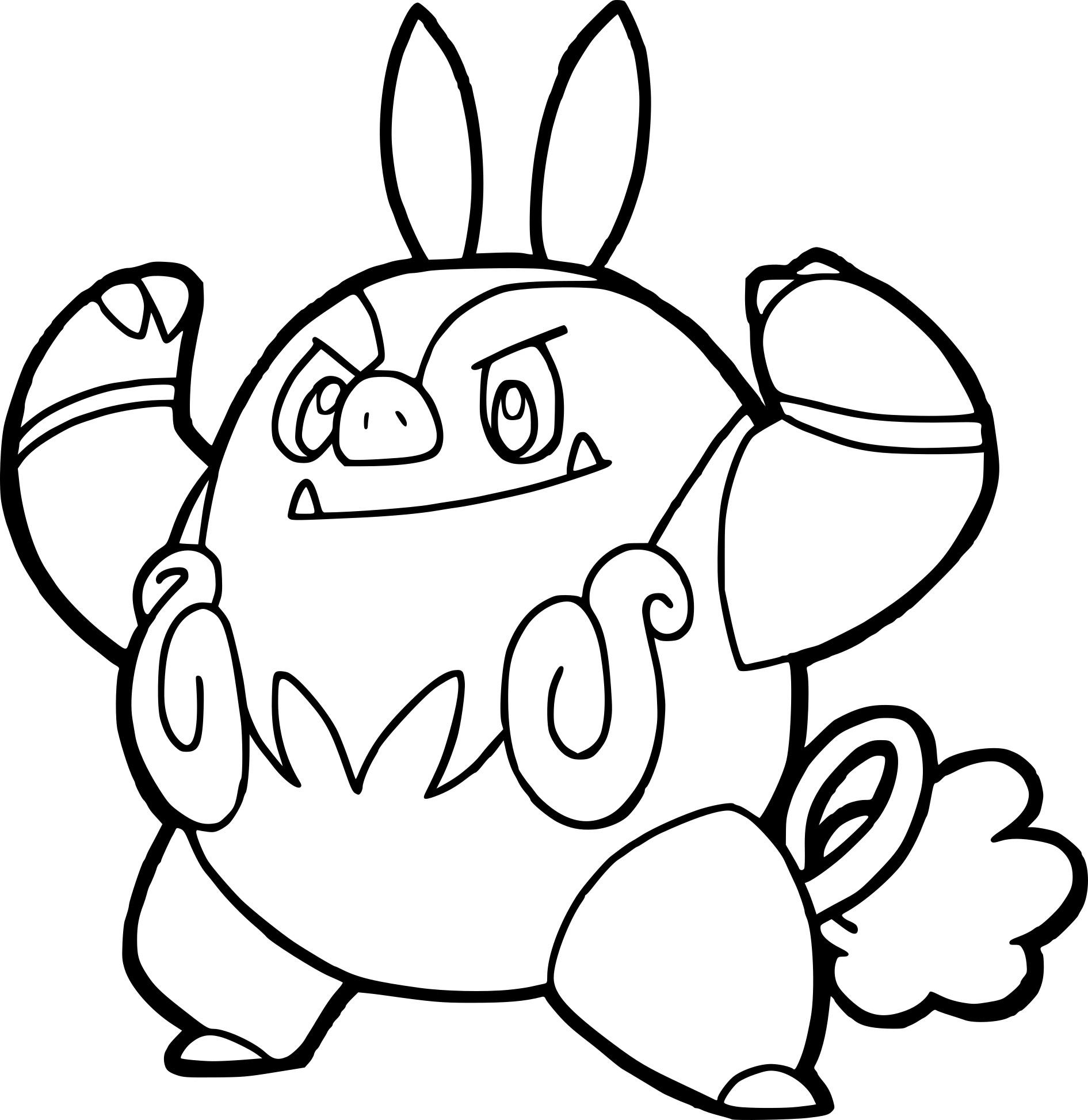 Coloriage grotichon pokemon imprimer - Coloriage pokemon imprimer ...