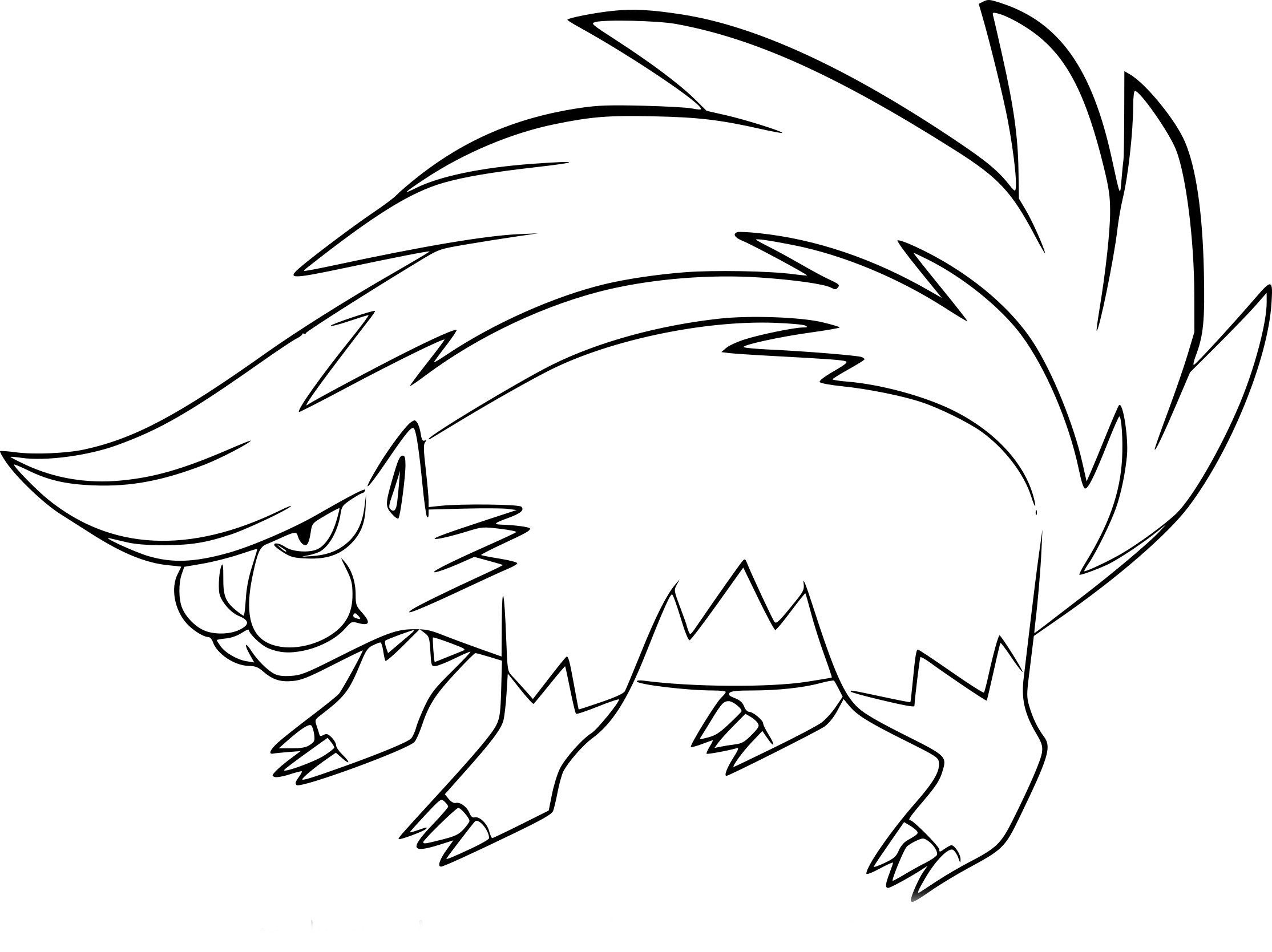 Coloriage moufflair pokemon imprimer - Coloriage diddl a imprimer ...
