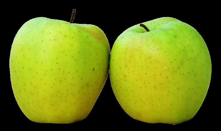 Deux pommes