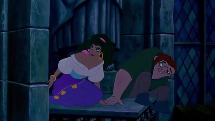 Esmeralda et Quasimodo