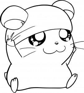 Coloriage bienvenue chez les loud imprimer - Hamster dessin anime ...