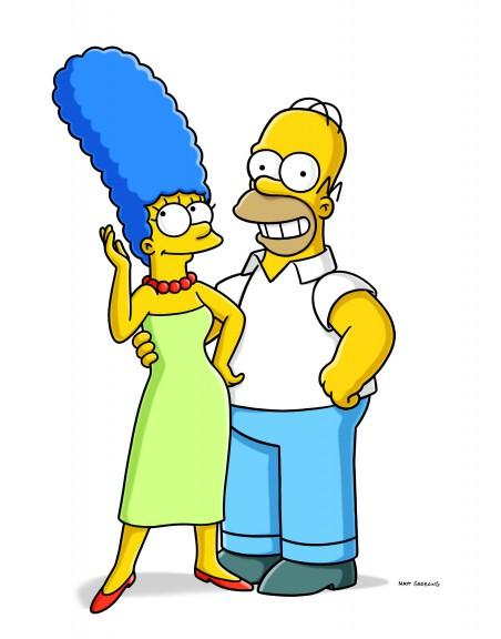 Homer et Marge