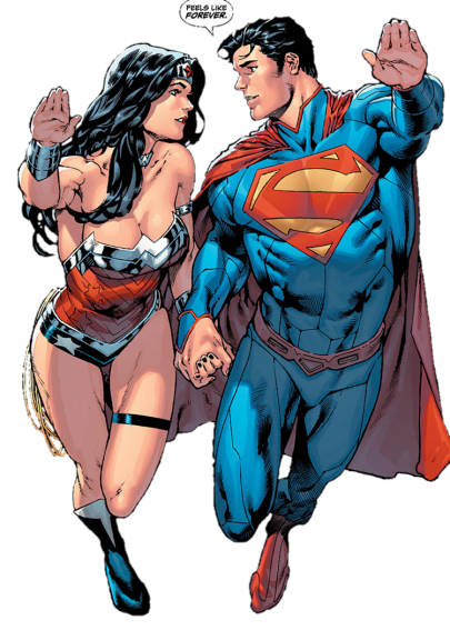 Superman et Wonder Woman