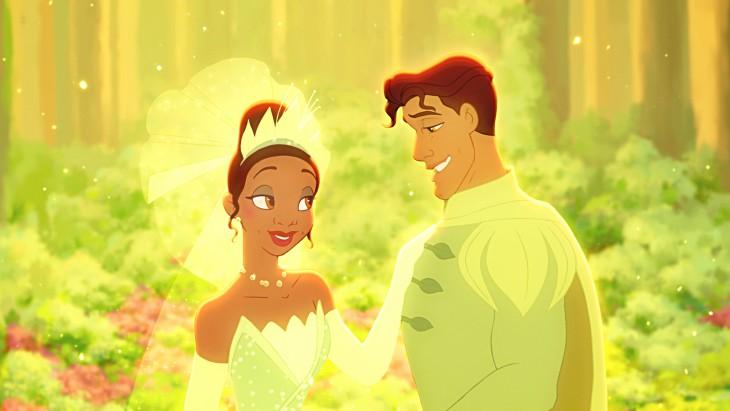 Tiana et Prince Naveen