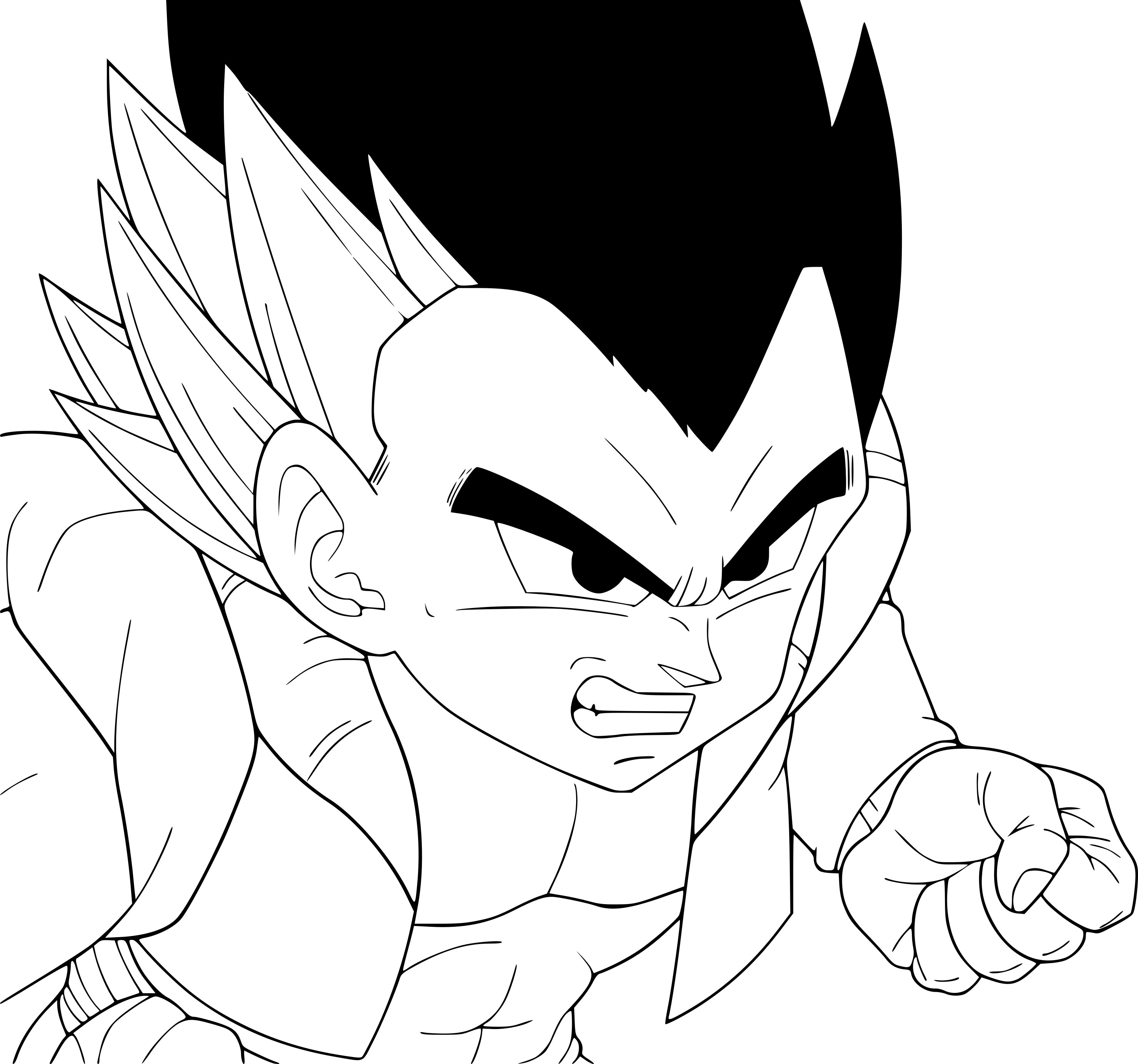 Coloriage Gotenks