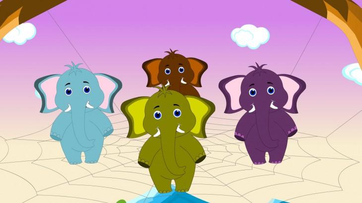 Éléphant enfants